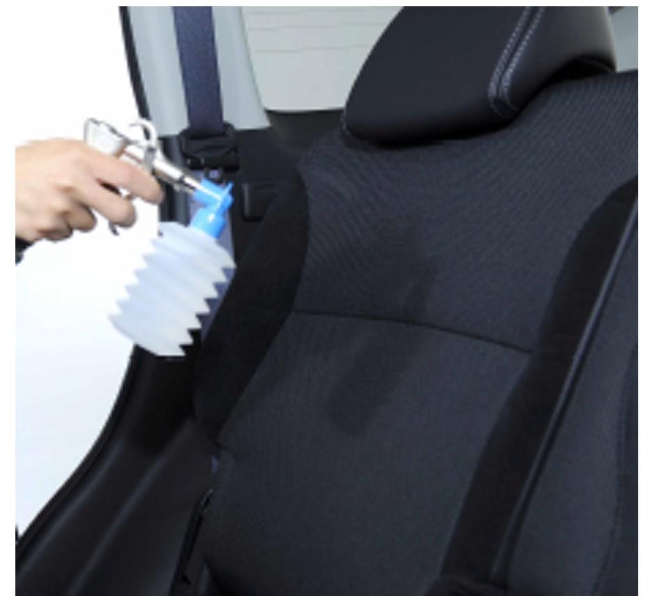 東京の出張洗車車内除菌抗菌加工